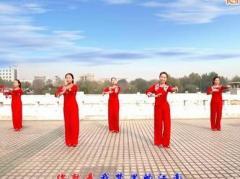云裳馨悦广场舞《你是我的江南》编舞沚水 附正背面口令分解教学演示