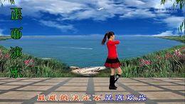 龙游红飞舞广场舞《爱情伤不起》编舞沐河清秋 附正背面口令分解教学演示
