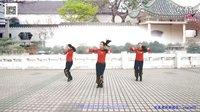 云裳广场舞《广场舞跳起来》原创舞蹈 附正背面口令分解教学演示