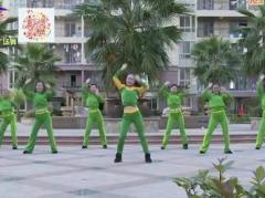杨丽萍广场舞《我的爱只为你存在》原创动感综合健身操 附正背面口令分解教学演示