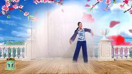 广西灵山曹曹广场舞《我在前世约了你》原创舞蹈 附正背面口令分解教学演示