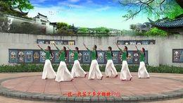 丽人舞动广东慧影广场舞《中国书法》编舞张春丽 团队正背面演示
