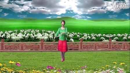 支英惠子广场舞《美丽的牧羊姑娘》原创舞蹈 附正背面口令分解教学演示