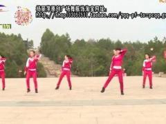 杨丽萍广场舞《最美最美》原创瘦腹健身操 附正背面口令分解教学演示