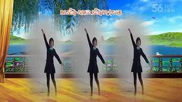 全椒管坝约定广场舞《爱的路上我和你》编舞凤凰六哥 正背面演示