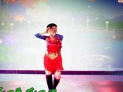 谢春燕广场舞《爱的世界只有你》原创舞蹈 附正背面口令分解教学演示
