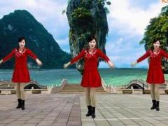 游城广场舞《新年快乐》原创舞蹈 附正背面口令分解教学演示