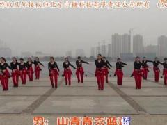 盛泽雨夜广场舞《唱首情歌给你听》原创舞蹈 团队正背面演示