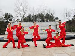 杨丽萍广场舞《新年快乐又吉祥》原创新年贺岁舞 附正背面口令分解教学演示