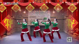 応子广场舞《猴年大吉棒棒哒》编舞四大天后 附正背面口令分解教学演示
