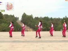 杨丽萍广场舞《年轻的朋友来相会》原创时尚步伐舞 附正背面口令分解教学演示