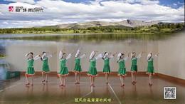 応子春丽广场舞《康巴情》原创舞蹈 附正背面口令分解教学演示