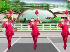 鄂州益馨广场舞《健康是福》原创秧歌舞 附正背面口令分解教学演示