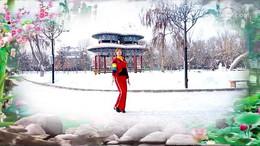 新疆花儿广场舞《小苹果》原创舞蹈 正背面演示