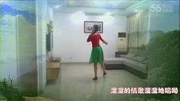盛泽雨夜广场舞《康巴情》原创舞蹈 附正背面口令分解教学演示