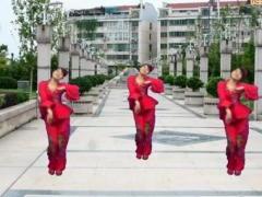 鄂州益馨广场舞《喜庆临门》原创舞蹈 附正背面口令分解教学演示