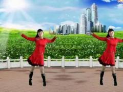 太湖一莲广场舞《越爱越精彩》原创舞蹈 附正背面口令分解教学演示
