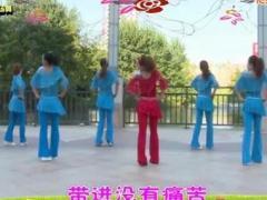 杨丽萍广场舞《今生的缘》原创形体健身舞 附正背面口令分解教学演示