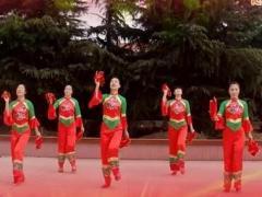 天姿广场舞《大圣贺猴年》原创舞蹈 附正背面口令分解教学演示