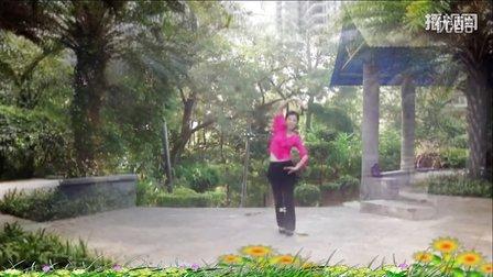 大湾群联广场舞《一条绳俩蚂蚱》原创舞蹈 附正背面口令分解教学演示