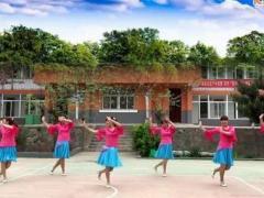 杨丽萍广场舞《百年好合》原创民族健身舞 附正背面口令分解教学演示