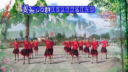 支英广场舞《最美最美》原创舞蹈 团队正背面演示