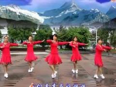 太湖一莲广场舞《高原好姐妹》原创舞蹈 附正背面口令分解教学演示