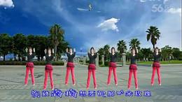 全椒管坝约定广场舞《最美最美》原创舞蹈 正背面演示