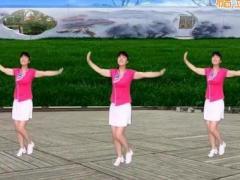 太湖一莲广场舞《手机有毒》原创健身舞 附正背面口令分解教学演示