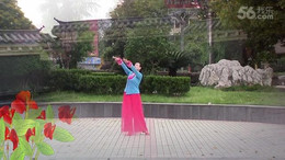 高安飞扬广场舞《六尺巷》原创舞蹈