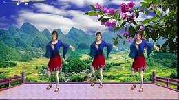 全椒管坝约锭广场舞《做我的新娘》编舞青春飞舞 正背面演示