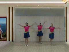 应子广场舞《小眼睛的姑娘》原创舞蹈 附正背面口令分解教学演示