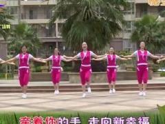 杨丽萍广场舞《妹妹不哭》原创动感现代舞 附正背面口令分解教学演示