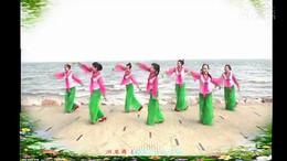 舞在深圳湾广场舞《缥缃醉》原创舞蹈 团队正背演示