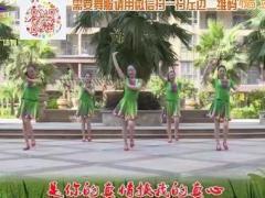 杨丽萍广场舞《真心换真情》原创大众韵律广场舞 附正背面口令分解教学演示