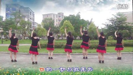 大湾群联广场舞《不做你的红颜》原创舞蹈 附正背面口令分解教学演示