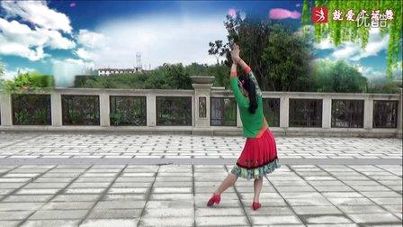 谢春燕广场舞《美丽云南》原创傣族舞蹈 附正背面口令分解教学演示