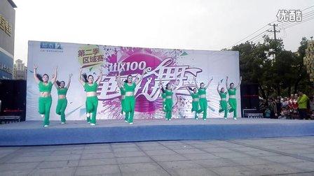 瑞洪广场舞《最美最美》原创舞蹈 团队正背面演示