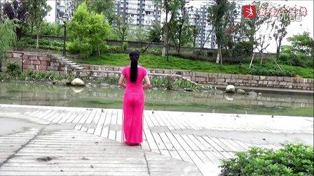 谢春燕广场舞《毛主席的话儿记心上》原创舞蹈 附正背面口令分解教学演示