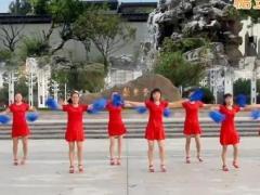 太湖一莲广场舞《恭喜发财》原创舞蹈 附正背面口令分解教学演示