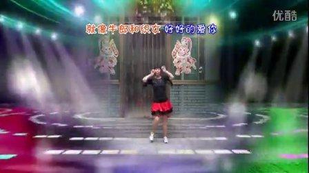 武安市东寺庄广场舞《前世今生的轮回》编舞青儿 正背面演示
