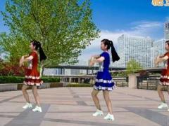 游城广场舞《摇太阳》原创舞蹈 附正背面口令分解教学演示