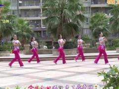 杨丽萍广场舞《前世今生的轮回》原创热身健身操 附正背面口令分解教学演示