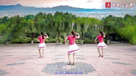 云裳馨悦广场舞《我想去印度》编舞梅子 附正背面口令分解教学演示