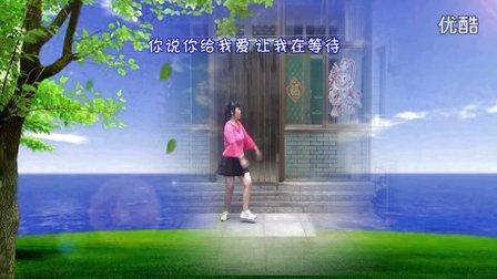 武安市东寺庄广场舞《唱着情歌流着泪》编舞新月舞蝶 正背面演示