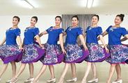 刘荣广场舞《如果真的有来生》原创舞蹈 附正背面口令分解教学演示
