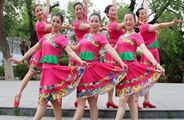 刘荣广场舞《火火中国梦》原创舞蹈 附正背面口令分解教学演示