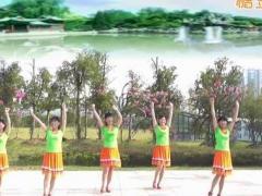 动动广场舞《秀丽江山》原创舞蹈 附正背面口令分解教学演示