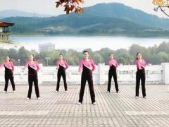 云裳馨悦广场舞《中国舞台》原创动感健身操 附正背面口令分解教学演示