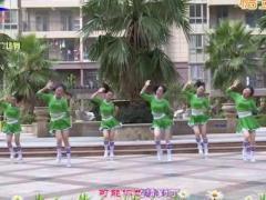 杨丽萍广场舞《一抓一蹦跶》原创神曲趣味健身操 附正背面口令分解教学演示